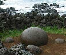 stein med masse små hull